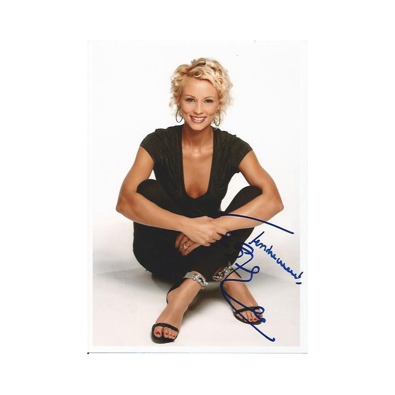 Autographe elodie gossuin miss france 2001 photo d dicac e - Miss france elodie gossuin ...