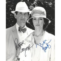 Autographe Peter COYOTE & Mary STEENBURGEN