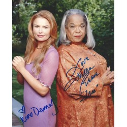 Autographe Roma DOWNEY & Della REESE - TOUCHED BY AN ANGEL