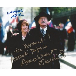 Autographe Dominique LABOURIER & Claude RICH