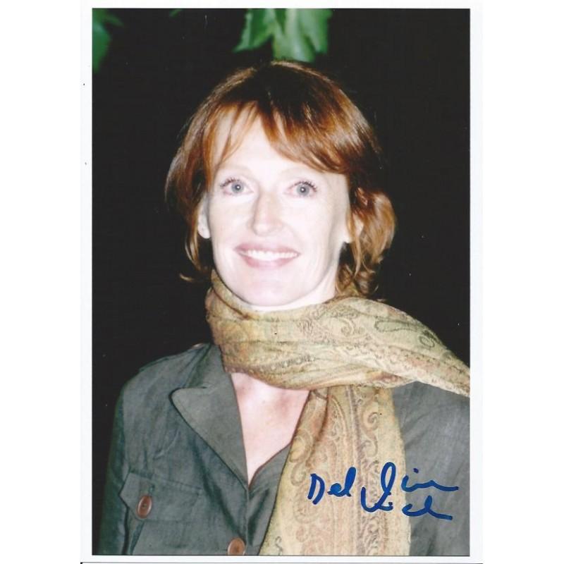 Autographe Delphine RICH