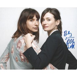 Autographe Emily MORTIMER & Dolly WELLS - DOLL & EM