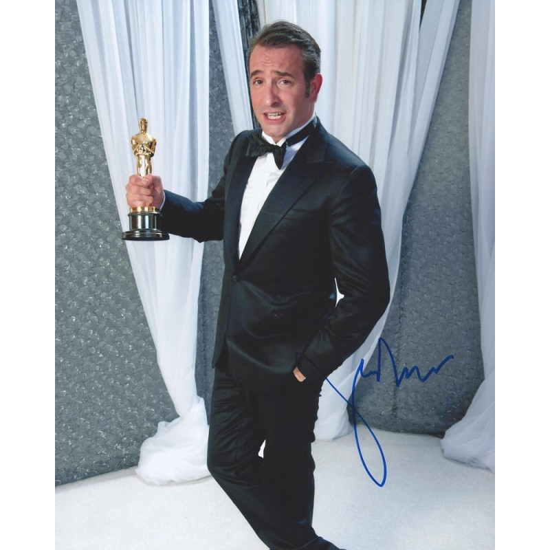 Autographe jean dujardin photo d dicac e for Jean dujardin 30 ans