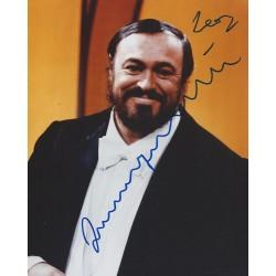 Autographe Luciano PAVAROTTI