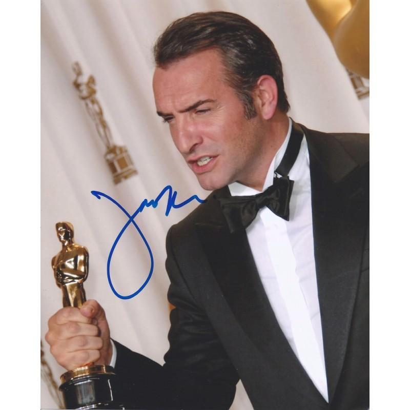 Autographe jean dujardin photo d dicac e for Jean dujardin autographe
