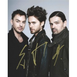 Autographe 30 SECONDS TO MARS