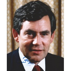 Autographe Gordon BROWN