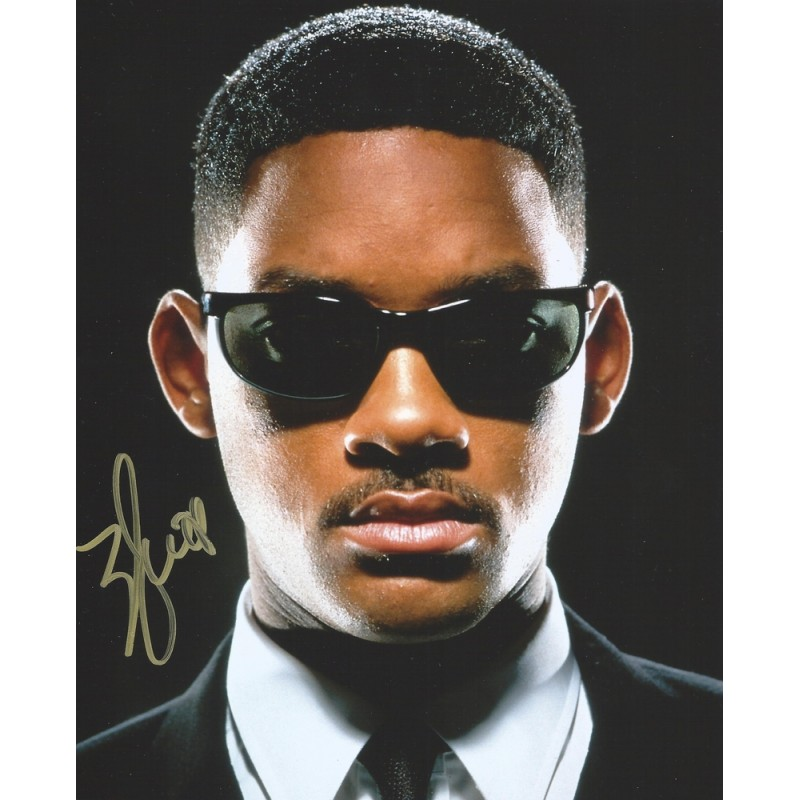J And M Auto >> Autographe Will SMITH (Photo dédicacée)