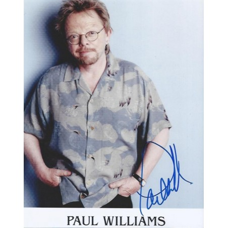 Autographe Paul WILLIAMS