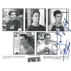 Autographe Jason BIGGS & Seann William SCOTT - AMERICAN PIE