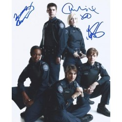 Autographe Travis MILNE, Gregory SMITH & Charlotte SULLIVAN - ROOKIE BLUE