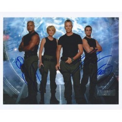Autographe Chris JUDGE & Michael SHANKS - STARGATE