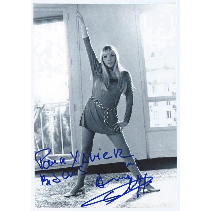 J And K Auto >> Autographe Annie PHILIPPE (Photo dédicacée)