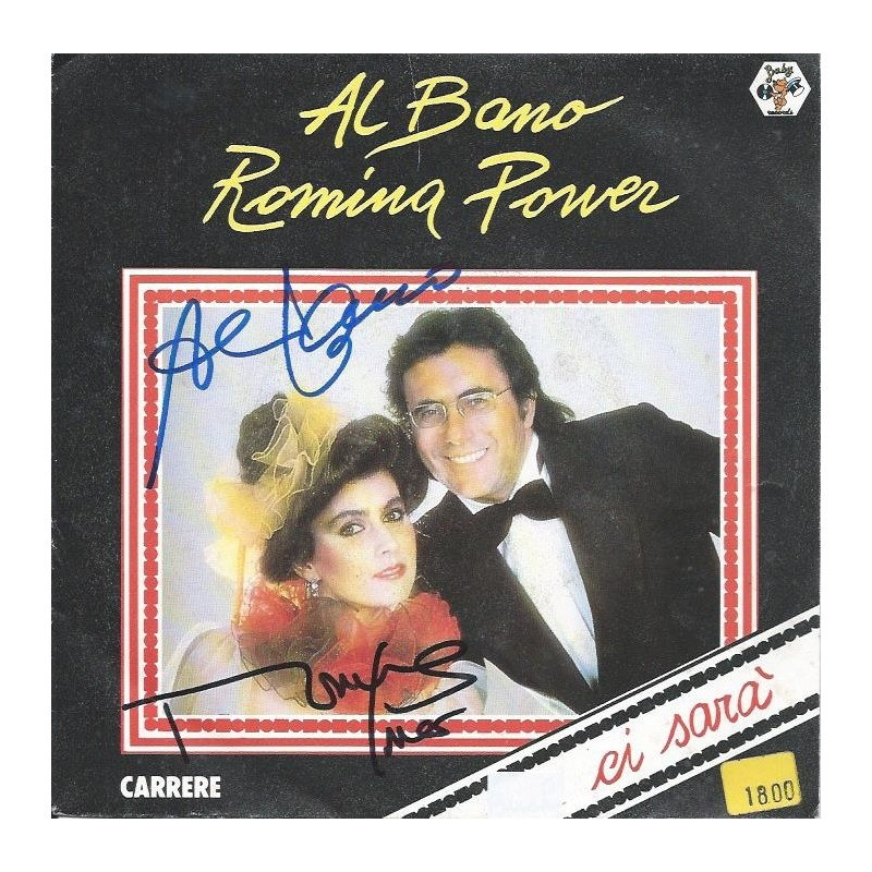 Autographe al bano romina power photo d dicac e for Al bano e romina power
