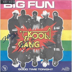 "Autographe Robert ""Kool"" BELL - KOOL & THE GANG"