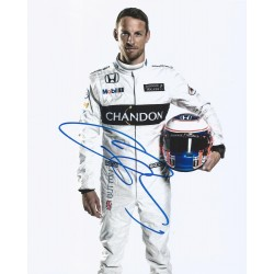 Autographe Jenson BUTTON