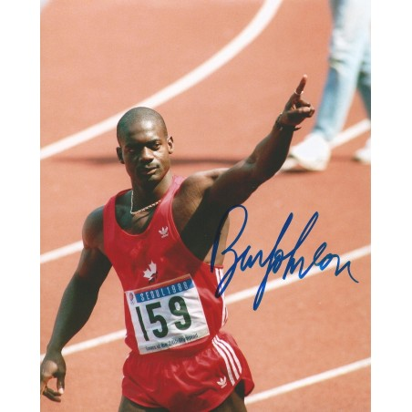 Autographe Ben JOHNSON