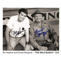 BORGNINE Ernest & HOPKINS Bo