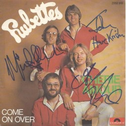 Autographe THE RUBETTES