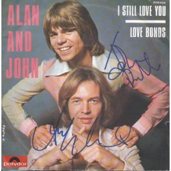 Autographe Alan & John - THE RUBETTES