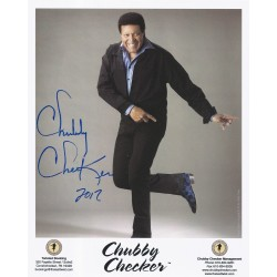 Autographe Chubby CHECKER