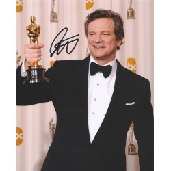 Autographe Colin FIRTH