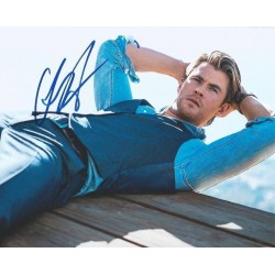 Autographe Chris HEMSWORTH