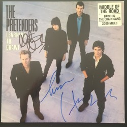 Autographe Chrissie HYNDE & Martin CHAMBERS - PRETENDERS