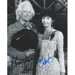Autographe Christopher LLOYD & Mary STEENBURGEN