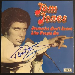 Autographe Tom JONES