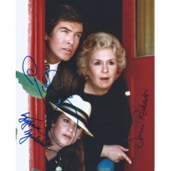 Autographe Pierce BROSNAN, Doris ROBERTS & Stephanie ZIMBALIST - REMINGTON STEELE