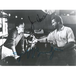 Autographe Jeff BRIDGES & James WOODS