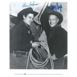 Autographe Harry CAREY Jr & Ben JOHNSON
