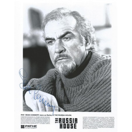 Autographe Sean CONNERY