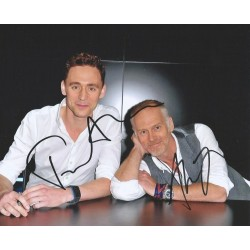 Autographe Tom HIDDLESTON & Alan TAYLOR