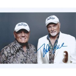 Autographe Bruce JOHNSTON & Mike LOVE - BEACH BOYS