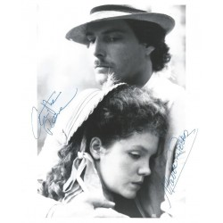 Autographe Madeleine POTTER & Christopher REEVE