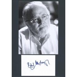 Autographe Richard ATTENBOROUGH