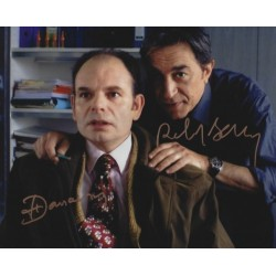Autographe Richard BERRY & Jean Pierre DARROUSSIN