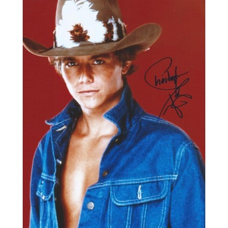 Autographe Christopher ATKINS