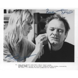 Autographe Julie BROWN & Bruce JONES