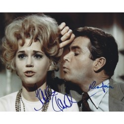 Autographe Jane FONDA & Dean JONES