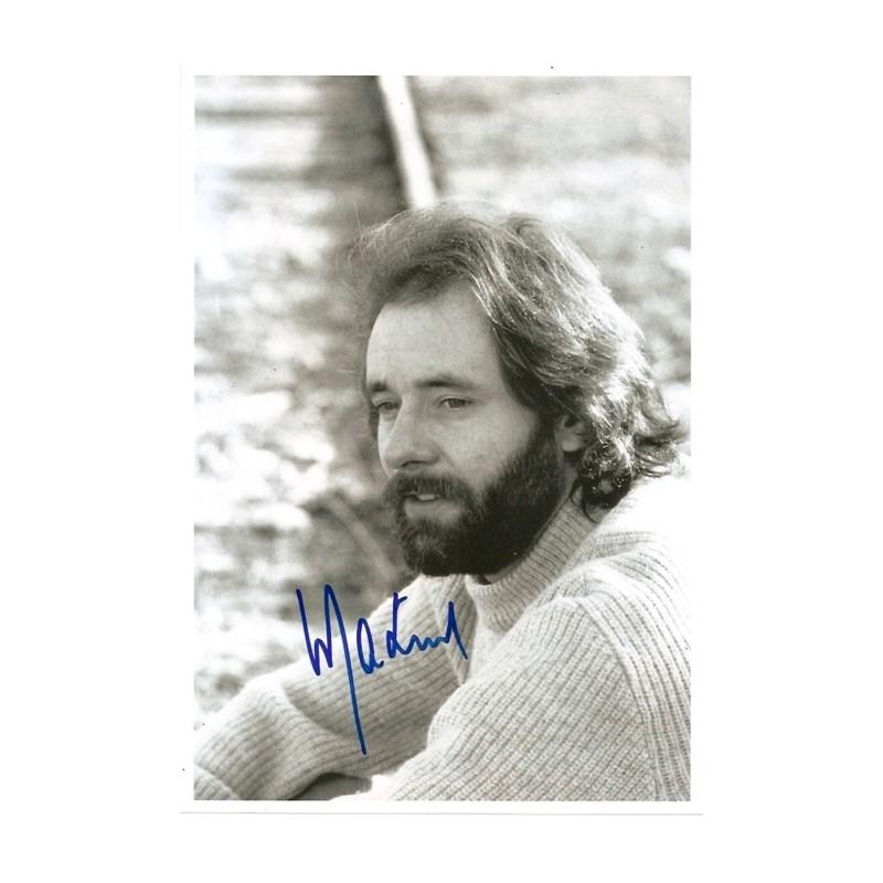Autographe de Maxime <b>LE FORESTIER</b> - autographe-maxime-le-forestier