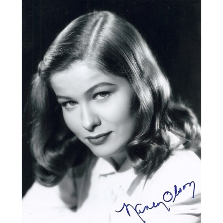 Autographe Nancy OLSON
