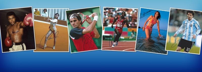 Autographe Sport - Autographes de Sportifs