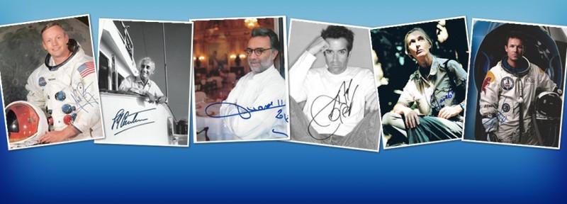 Autographes Célébrités - Autographes Célèbres
