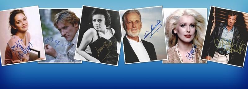 France Cinema Autograph - French TV Shows Autographs
