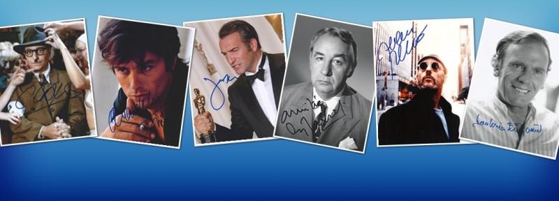 Autographes Acteurs Français