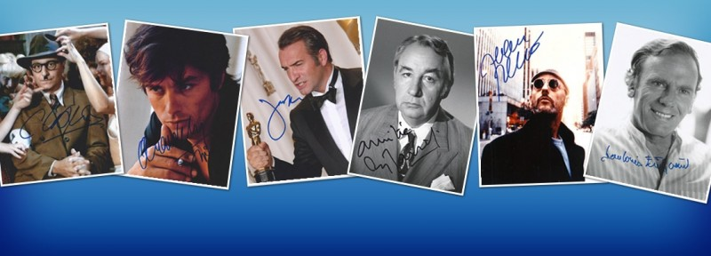 French Actor Autograph - French Actors Autographs