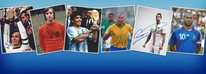 Soccer Autographs - Soccer Player Autograph